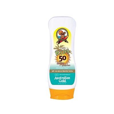 Australian Gold Bloqueador solar Crema niños SPF 50 Alta Protección 237 ml