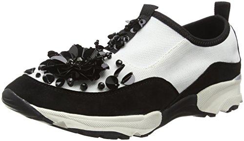 Carvela Damen Lullaby Np Sneaker Weiß