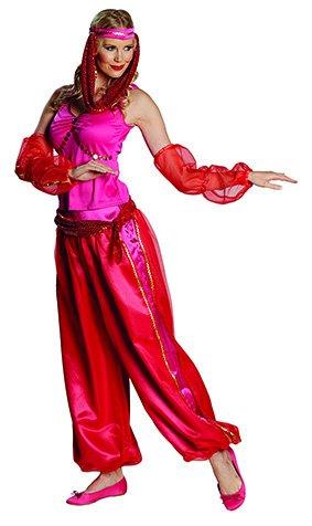 Harems Kostüm Tänzerin - Orient Kostüm Jeanie Größe 38, 1001 Nacht Flaschengeist arabische Tänzerin Bollywood Suleika (38)