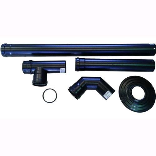 Smalbo 9763412 Kit mit Rohren für Pelletheizungen, Durchmesser: 8cm