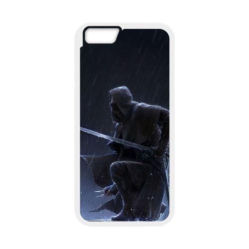 Corvo Attano Dishonored 3 coque iPhone 6 4.7 Inch Housse Blanc téléphone portable couverture de cas coque EBDXJKNBO16839