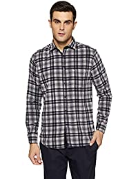 Easies Men's Checkered Slim Fit Casual Shirt