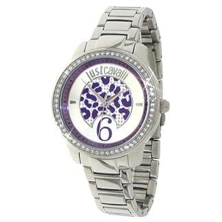 Just Cavalli R7253196501 – Reloj para Mujeres, Correa de Acero Inoxidable Color Plateado