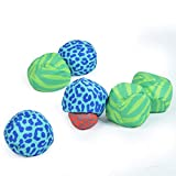 Ocean 5 Extreme Boule - Soft Boules Set, Street Bocce, Cross Country Petanque with Bag - Play anywhere indoors and outdoors