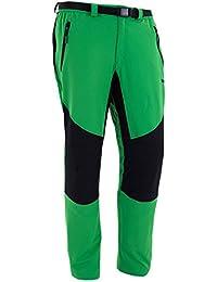 Izas Carlin Pantalones, Hombre, Verde Claro/ Negro, XXL