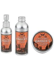 Fleet Street Barber's BART SET -Shampoo, Pomade, Öl-