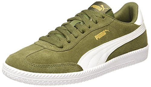 Puma Unisex-Erwachsene Astro Cup Sneaker, Grün (Olive Night-White),40.5 EU