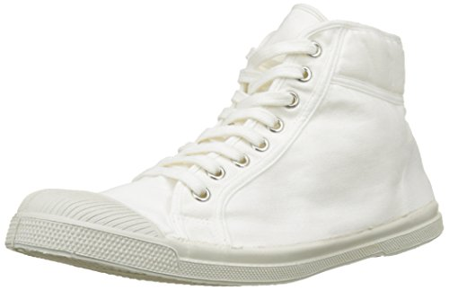 Bensimon Tennis Mid, Baskets Hautes Homme Blanc (Blanc)