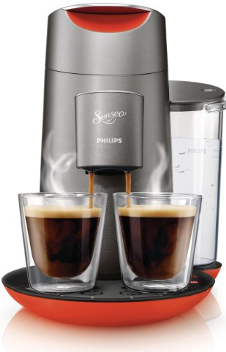 Philips HD7873/50 Senseo Twist Kaffeepadmaschine Touchdisplay Chinese Fire