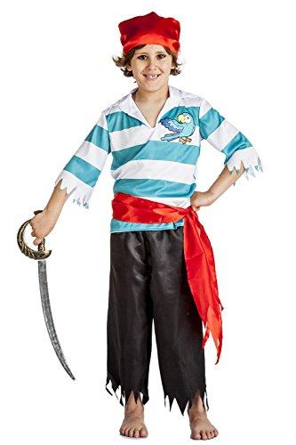Imagen de disfraz de pirata loro niño 10 12 años