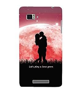 PrintVisa Designer Back Case Cover for Lenovo Vibe Z K910 (Romantic Couple in Rainy Day)