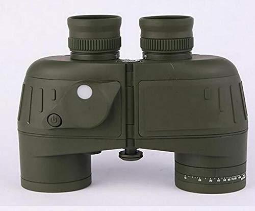 ACZZ Teleskop 7X50 Fernglas Für Erwachsene Und Interne Entfernungsmesser Kompass Wasserdicht...