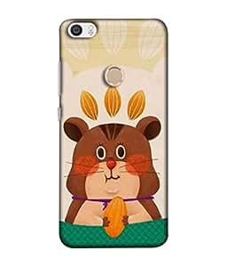 PrintVisa Designer Back Case Cover for Xiaomi Redmi Max (Wallpaper Background Kid Love Joy Cartoon Happy)