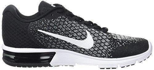 Nike Wmns Air Max Sequent 2, Scarpe Running Donna Nero (Noir/gris Foncé/gris Loup/blanc)