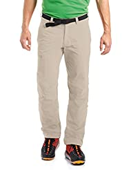 Maier Sports Herren Wanderhose NIL / Trekkinghose / Funktionshose / Tourenhose, Roll Up, Grau (feather gray), 52, 132001