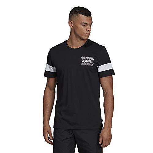 Adidas juve str gr tee, t-shirt uomo, black, m