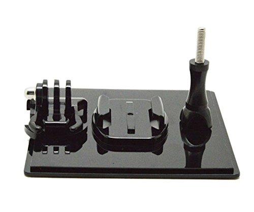 Shoot® Tisch Ständer Tisch Stativ GoPro Halter Display-Ständer Kamera Halter + Buckle Grundhalterung + Schraube für Gopro Hero 4 3 + 3 2 sj4000 sj5000 sj6000 sjcam xiaoyi Kamera