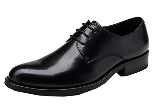 Dilize Herren 3-Eye Spitze bis Hochzeit Kleid Arbeit Schuhe in Leder Camp Moc