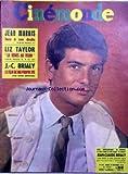 CINEMONDE [No 1373] du 29/11/1960 - JEAN MARAIS - LIZ TAYLOR - J.C. BRIALY DANS -...