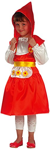 Carnival Toys-Disfraz Caperucita Rojo, De Sobre IV amarillo