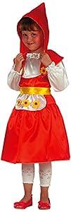Carnival Toys-Disfraz Caperucita Rojo, De Sobre III amarillo