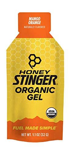 Honey Stinger Organic Energy Gel, Mango Orange, 1.1 Ounce (Pack of 24) by Honey Stinger -
