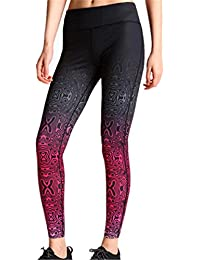 ZHLONG pantalons pantalons de yoga serrés secs femmes super mode printemps / été Santé Fitness absorbant la transpiration impression neuf minutes de pantalons sport respirant