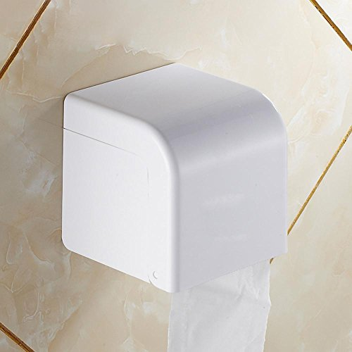 XXTT-Elegante, minimalista bagno portasciugamani, plastica cromato forato rotoli di carta, scatola del tessuto di carta impermeabile