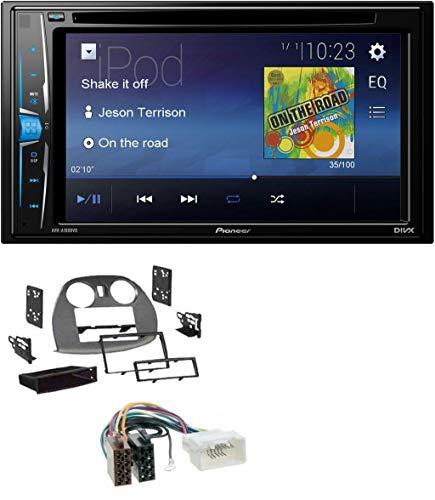 caraudio24 Pioneer AVH-A100DVD AUX USB 2DIN MP3 DVD CD Autoradio für Mitsubishi Eclipse 4G 05-12