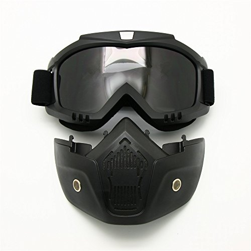 Motocicleta Bici Suciedad ATV Gafas Máscara Desmontable