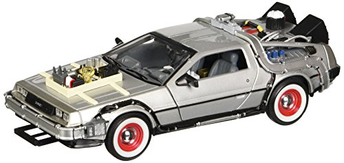 Welly De Lorean Dmc Delorean Retour vers Le Futur III Part 3 1/24 Welly Voiture Modèle