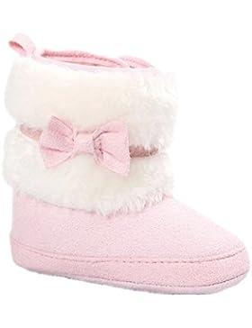 Baby Schuhe Auxma Halten Sie Baby Bowknot warme weiche Sohle Schneestiefel weiche Krippe Schuhe Kleinkind Stiefel...