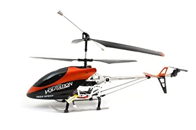 Superb Large Orange Outdoor Remote Control RC Helicopter Heli - Gifts for Men, Boys, and Older Children!