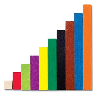 Learning Resources Cuisenaire Rods Plastic Introductory Set by Learning Resources (UK Direct Account)