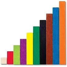 Learning Resources - Juego de regletas de Cuisenaire (plástico)