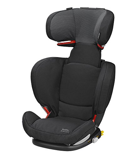 Bébé Confort  Rodifix Air Protect - Silla de auto, grupo 2/3, 15-36 kg, color negro