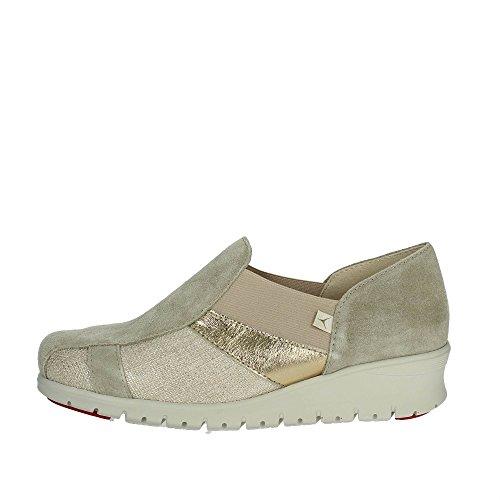 Cinzia Soft 9804LY Slip-On Chaussures Femme Beige