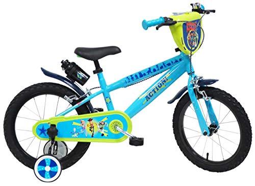 Disney 16' Toy Story Bicicletta per Bambino Unisex, Azzurro