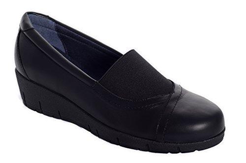 Oneflex Marie negro – zapatos anatómicos cómodos para mujer