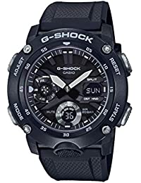 CASIO Unisex Adult Analogue-Digital Quartz Watch with Resin Strap GA-2000S-1AER