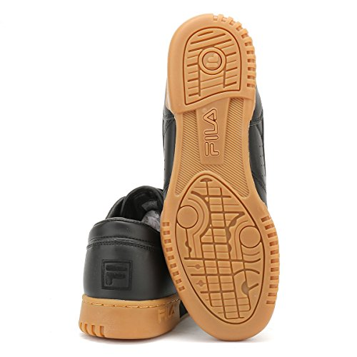 Fila Uomo Nero / Gum Original Fitness Premium Sneaker Nero / Gum