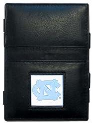 NCAA North Carolina Tar Heels Leather Jacob's Ladder Wallet