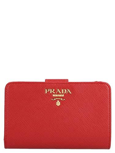 Prada Damen 1Ml225qwaf068z Rot Leder Brieftaschen
