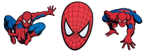 Preisvergleich Produktbild Decofun 23668 Spiderman - Foam Elements 3-Stück