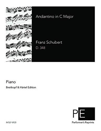 Andantino, D.348 por Franz Schubert