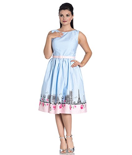117c1c92c3d040 Hell Bunny Kleid Paname 50's Dress 4786 (UK 18-20 (2XL),