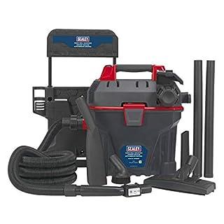 Sealey GV180WM Garage Vacuum 1500W with Remote Control - Wall Mounting
