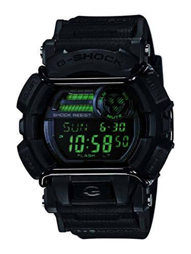 Casio G-Shock Men's Military GD-400 Watch, Black, One Size (G-shock Military Watch)