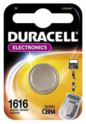 Duracell 75053897, Pila Speciale per Apparecchi Fotografici 1616 Piccolo Blister  x1