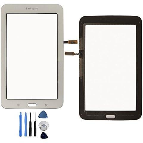 Express Shop offerta. Samsung Galaxy Tab 37.0T110Display Glass Touch Screen Digitizer Disco Bianco con accessori, senza display LCD